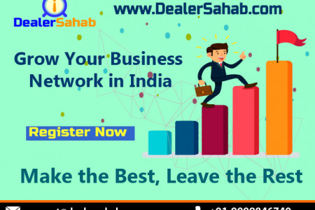 Grow Your Business Network online in India Infographic