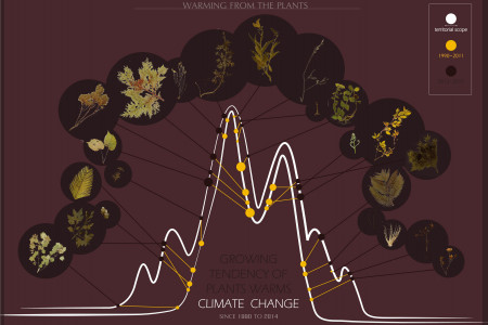 Growing Tendency Of Plants Warms Climate Change Infographic