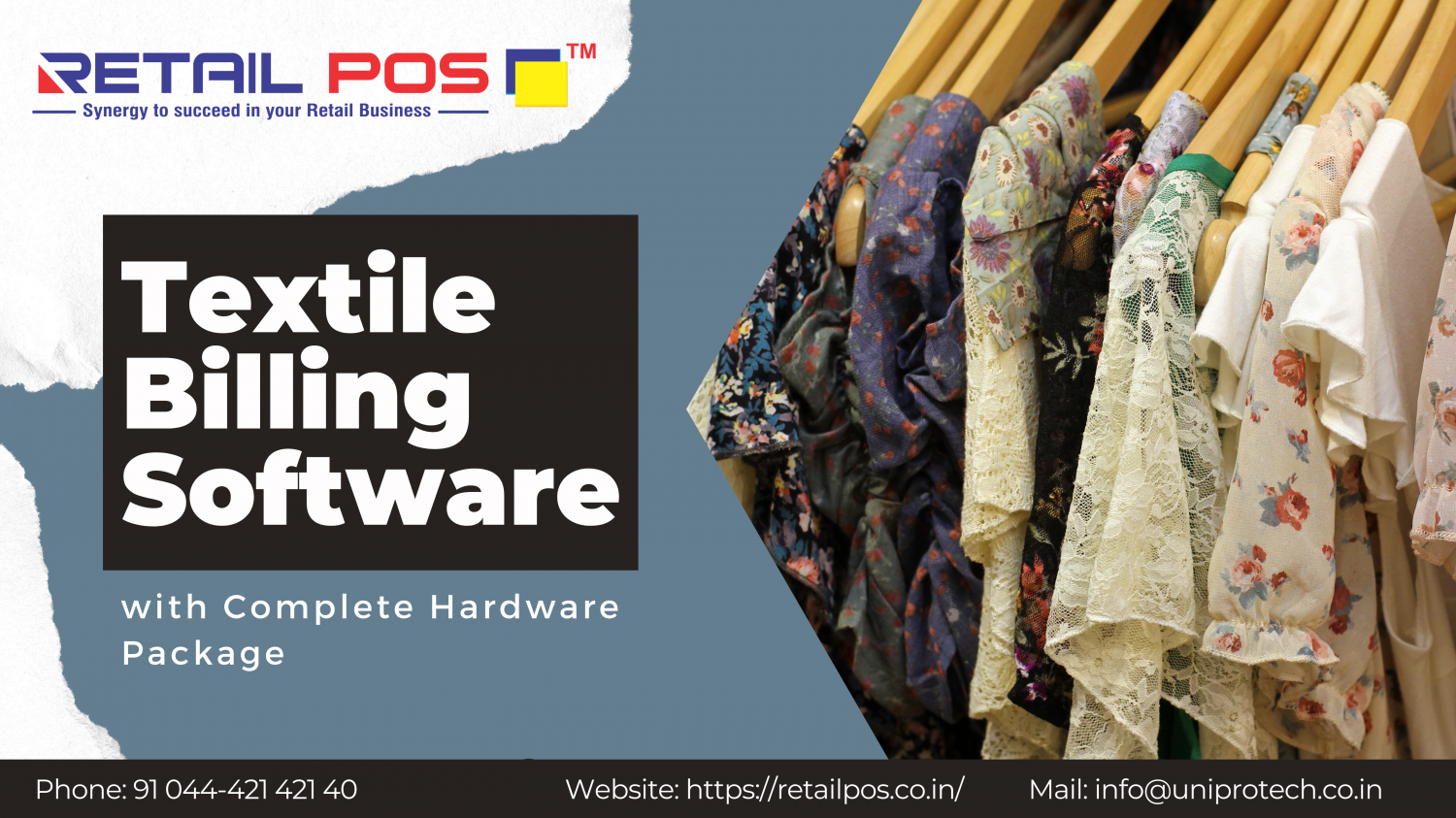GST ready textile billing software to streamline your business operations Infographic
