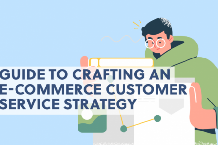 Guide to Crafting an E-Commerce Customer Service Strategy Infographic