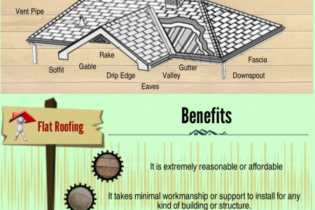 Guide to Flat Roofing for Your Home & Benefits Infographic