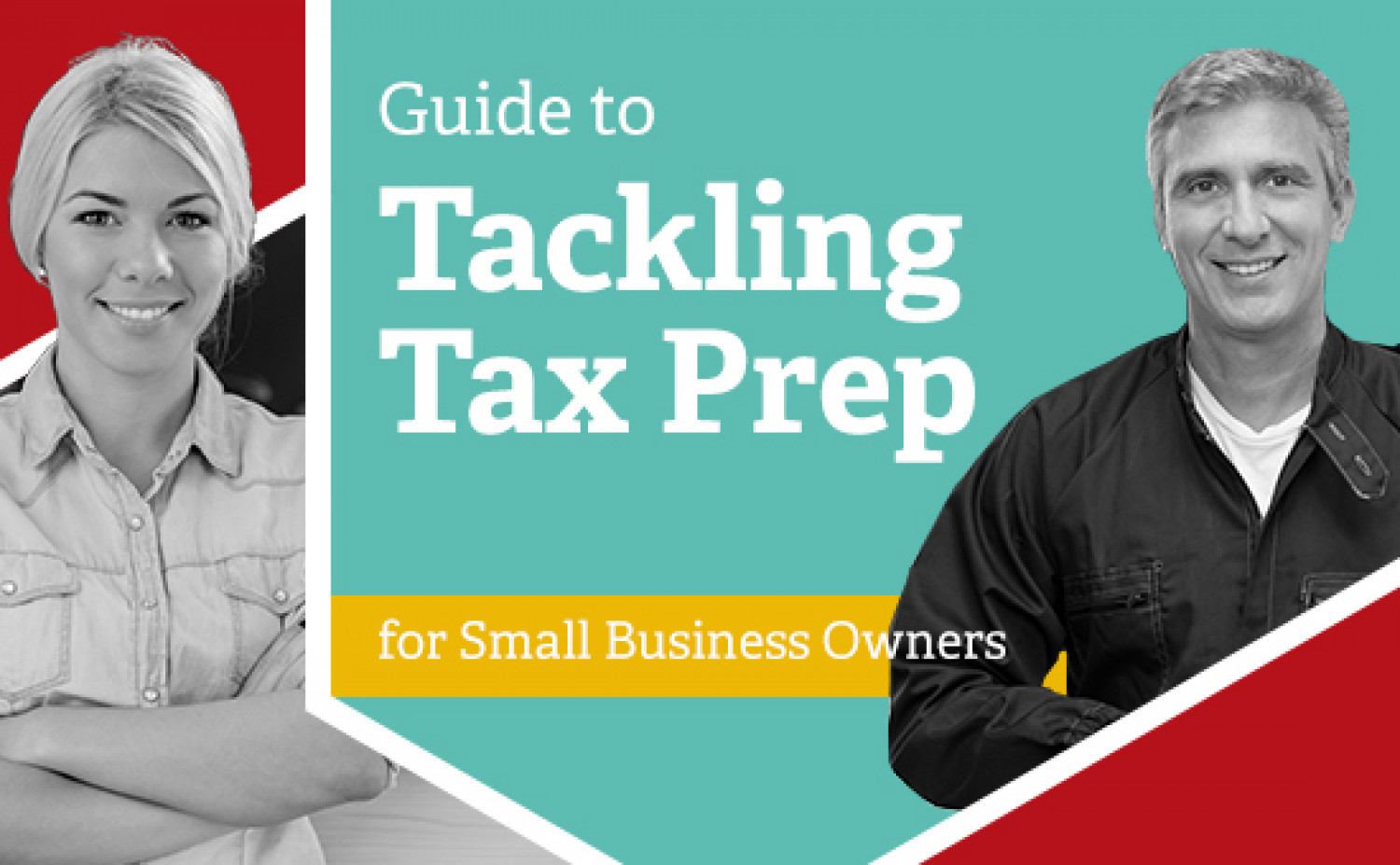 Guide to Tax Prep for Small Business Owners Infographic