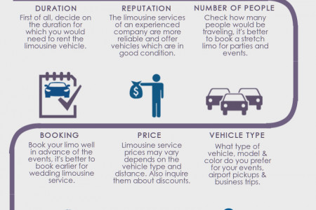 Guidelines For Hiring Professional Limousine Service Infographic