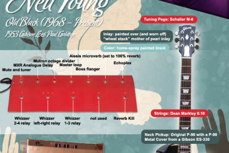 Guitars of Legend: That Rock and Roll Sound Infographic