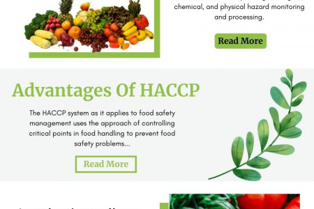 HACCP Certification Courses Infographic