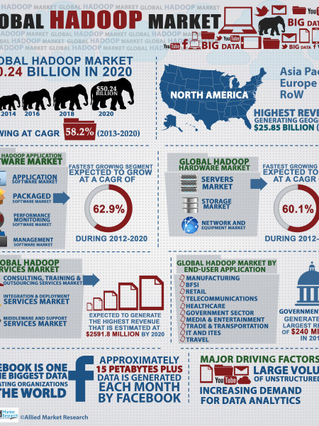 Global Hadoop Market Infographic