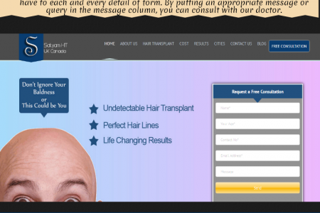 Hair Transplant in Canada Infographic