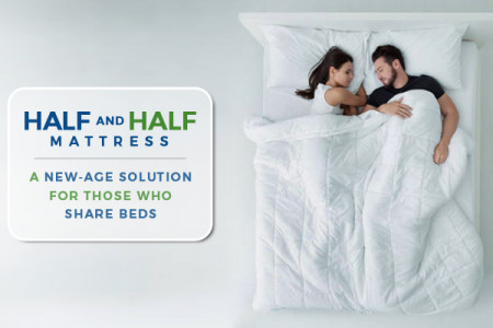 Half and Half Mattress: A New-Age Solution for Those Who Share Beds Infographic
