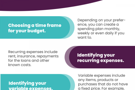 Handling Budget, Finance and Loans Infographic