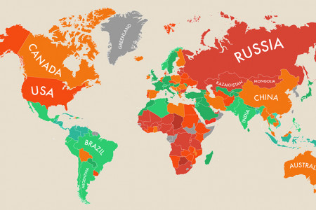 Happiness Index Around the World Infographic