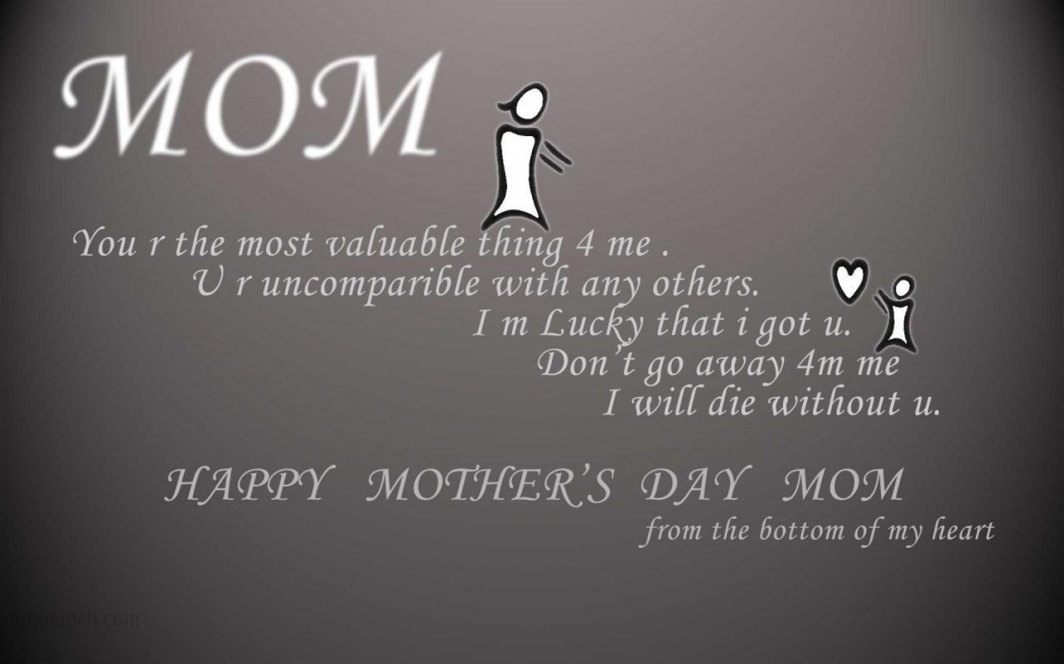 Happy Mothers Day Infographic