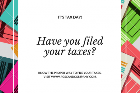 Have you filed your taxes?  Infographic