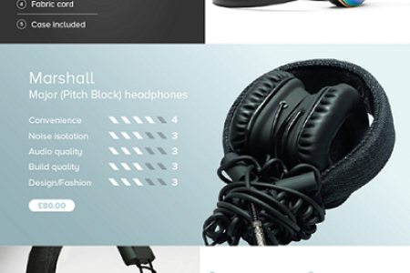 Headphones: Tech or Fashion? Infographic