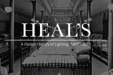 Heal's History of Lighting Infographic