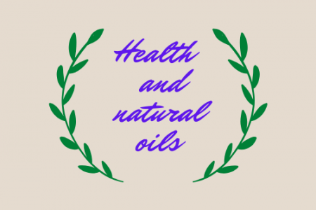 Health and Natural Oils Infographic