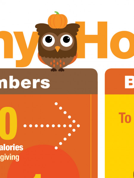 Healthy Holidays: An Infographic for Holiday Health & Wellness Infographic