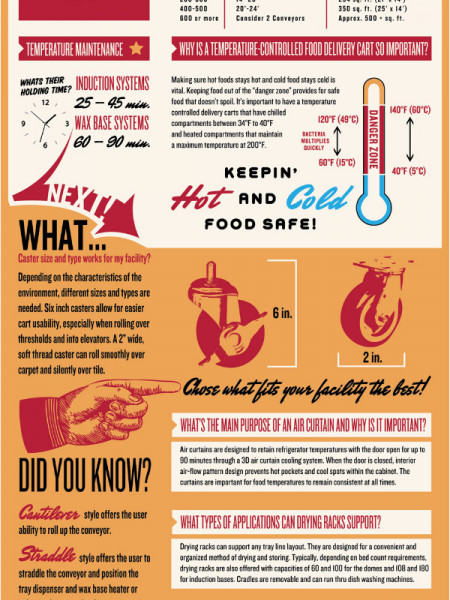 Healthcare Food Service Infographic