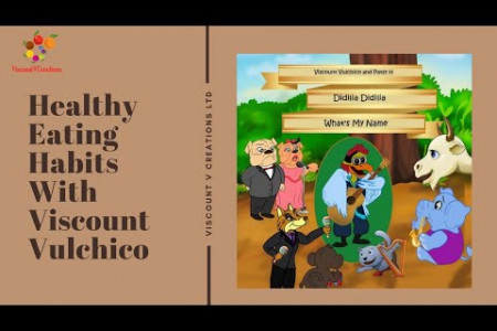 Healthy Eating Habits With Viscount Vulchico What's My Name Song Infographic