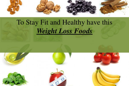 Healthy Food for Weight Loss Infographic