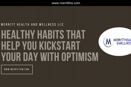 Healthy Habits That Help You Kickstart Your Day with Optimism Infographic