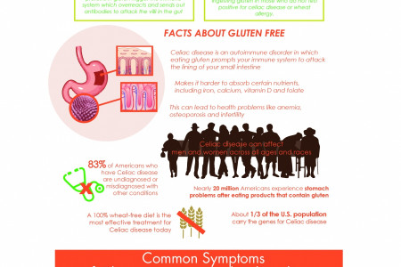 Healthy Living: All you Need to Know About Gluten-Free Living Infographic