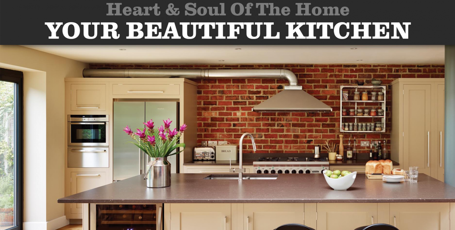 Heart & Soul of The Home - Your Beautiful Kitchen Infographic