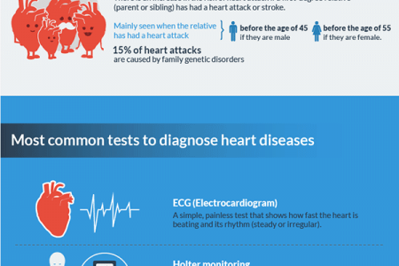 Heart Disease 101: The Basics Infographic