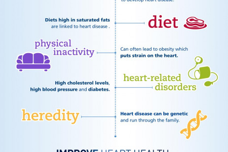 Heart Disease Risk Factors and Prevention Infographic  Infographic