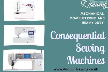 Heavy Duty & Computerised Sewing Machines Infographic