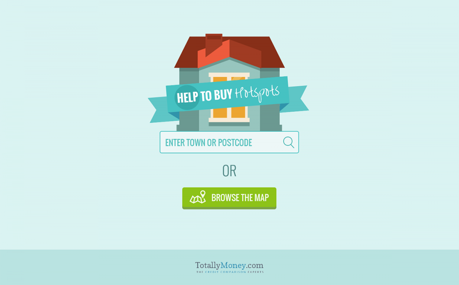 Help to Buy Hotspots in the UK Infographic