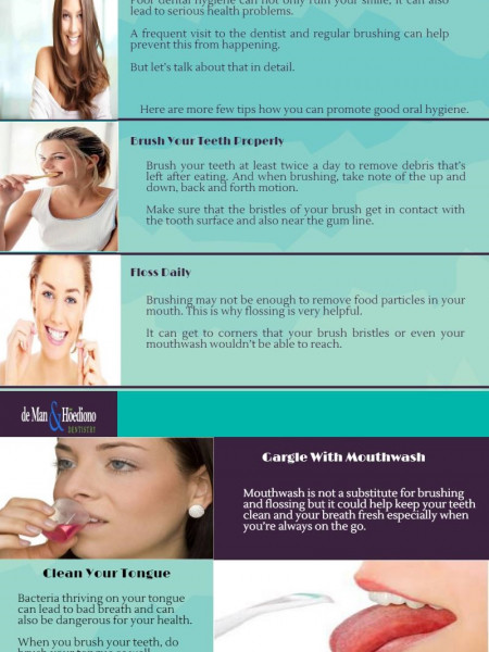 Helpful Tips for Good Dental Hygiene Infographic