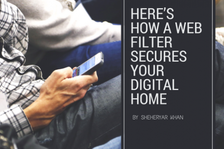 Here's How a Web Filter Secures Your Digital Home  Infographic