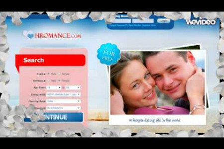 Herpes Dating - Meet Herpes & STD Singles Online @Hromance.Com Infographic