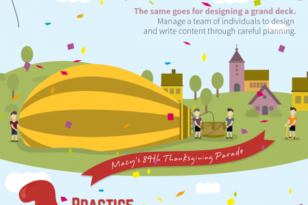 Hidden Presentation Giant: Macy's 89th Thanksgiving Parade Infographic