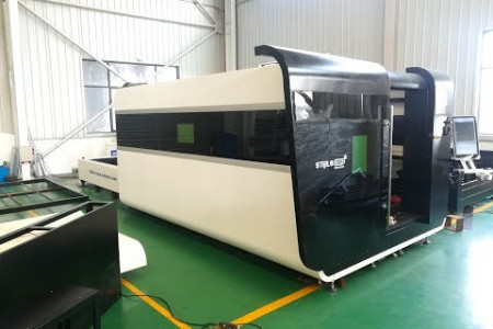 High power ST-FC3015GA fiber laser cutter with 3000w IPG laser source Infographic