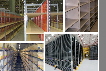 High Quality Industrial Metal Shelves - WPSS Infographic