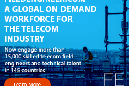 Highly skilled technicians and network engineers available with fieldengineer Infographic