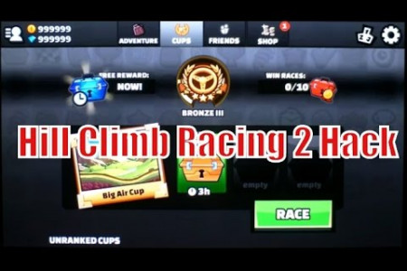 Hill Climb Racing 2 Hack Infographic