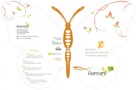 Himanshu Sampat Project of Aamani Group Infographic