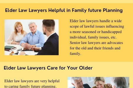 Hire an Elder Law Lawyers Infographic