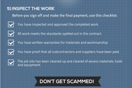 Hiring The Right Contractor For Your Next Project Infographic