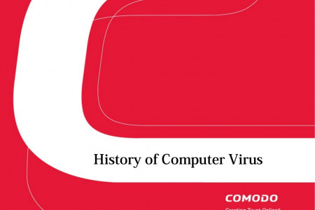 History of Computer Virus Infographic