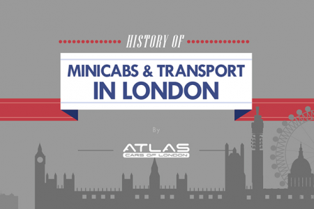 History of Minicabs & Transportation In London - Infographics Infographic