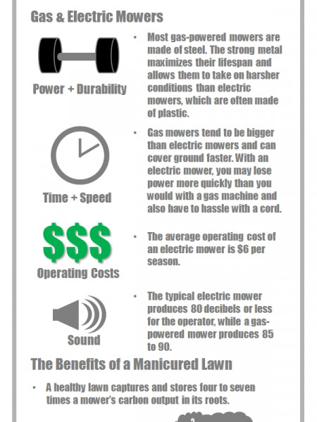 History of the Lawn Mower  Infographic
