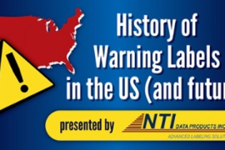 History of Warning Labels in the US (and future) Infographic
