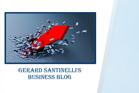 Hit A Brick Wall With Your Business? Here's 3 Solid Steps To Getting Unstuck - Gerard Santinelli Infographic