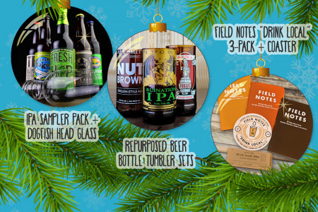 Holiday Gift Guide for Beer Lovers Infographic