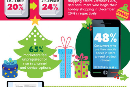 Holiday Shopping Statistics And Facts  Infographic