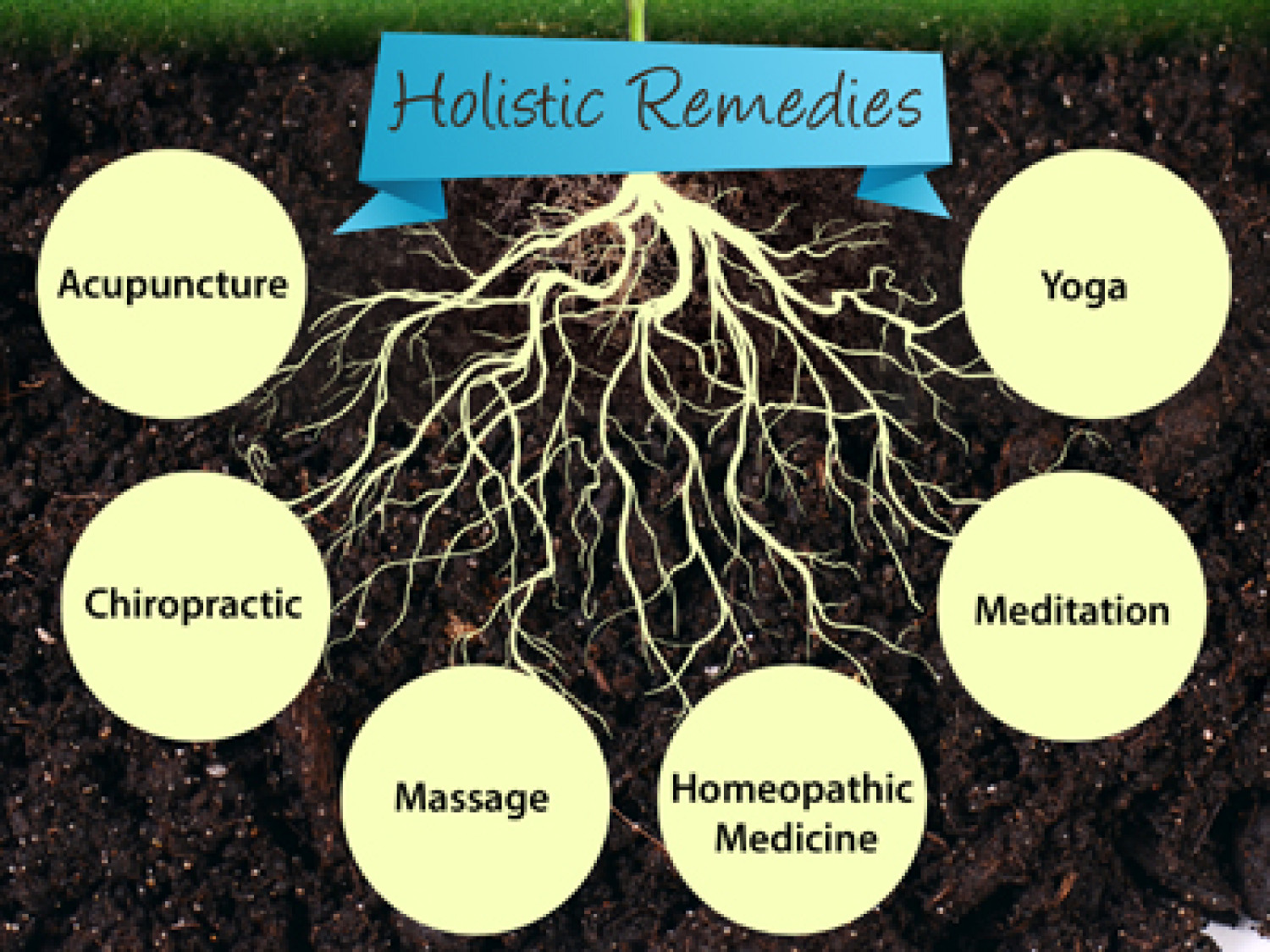 Holistic Remedies for Headaches Infographic