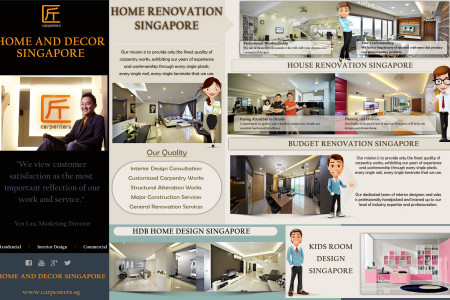 Home And Decor Singapore Infographic